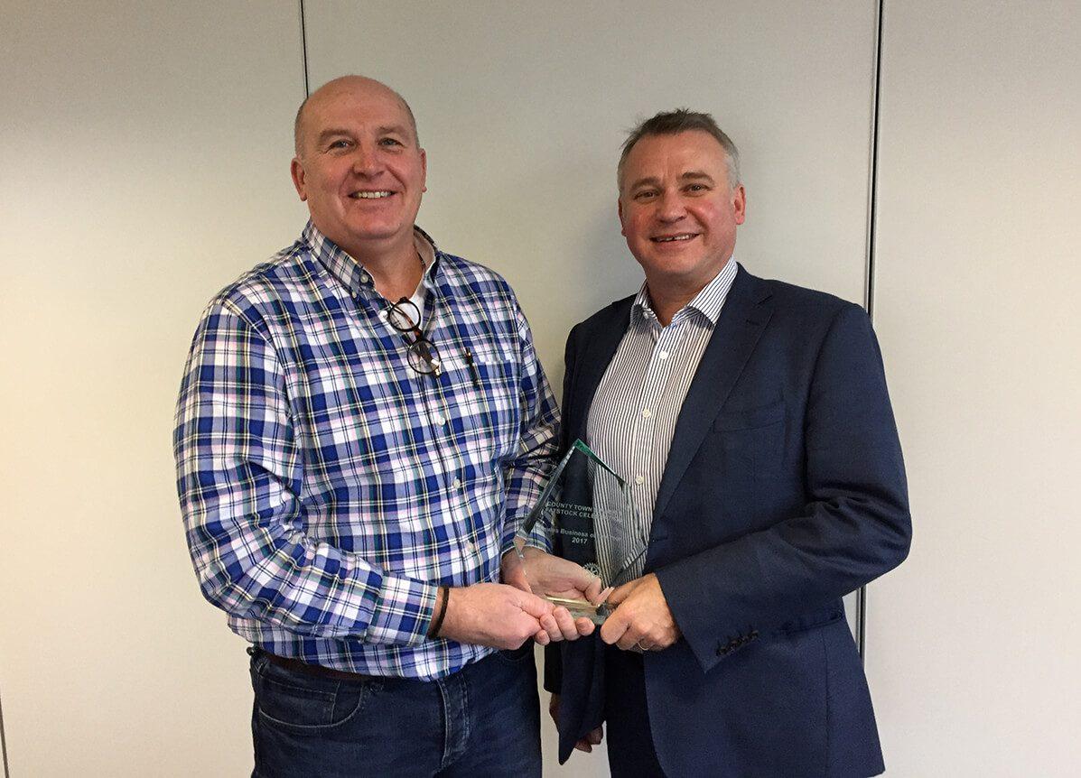 Lewes Business of the Year 2017 Award Jon Botting and Nick Rawson