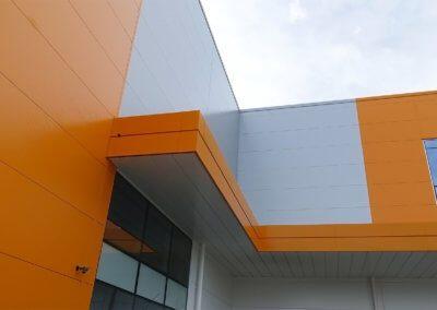 L & S Centre inner corner canopy