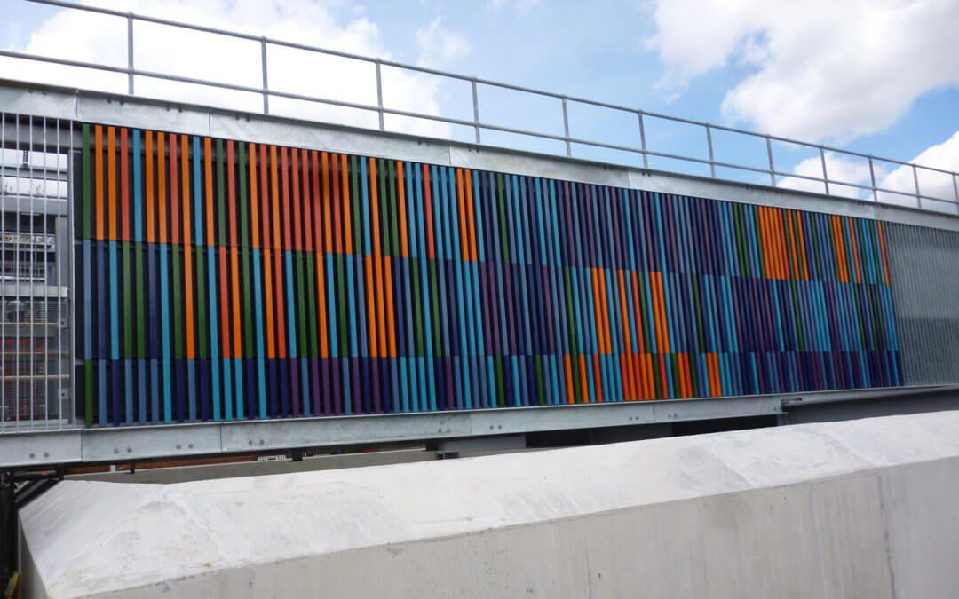 Cross Rail, Victoria Docks Portal