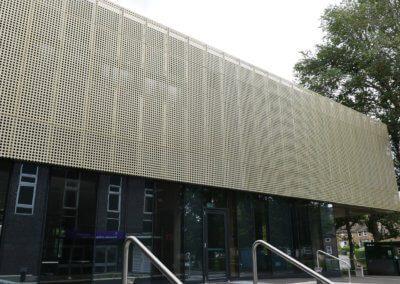 AE Building entrance.
