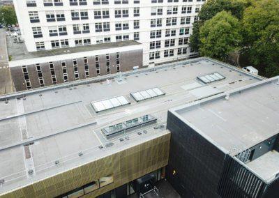 University - Advanced Engineering Building - Roof