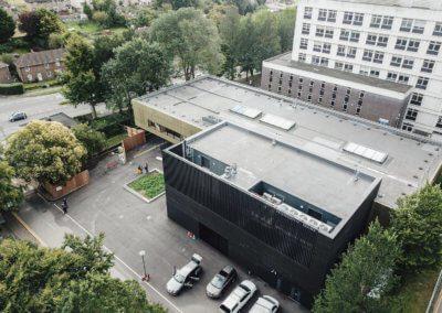 University - Advanced Engineering Building -Roof +Cladding
