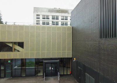 AE building - entrance