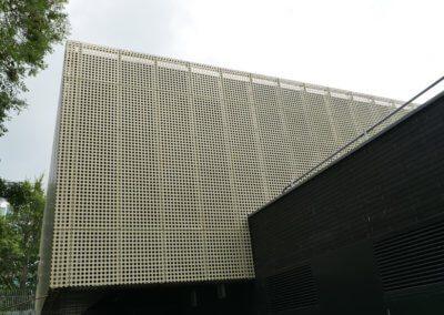 AE building - Wall cladding